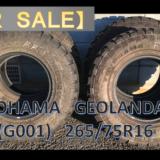 売却済【FOR SALE】タイヤ YOKOHAMA GEOLANDAR M/T(G001) 4本中古