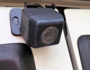 劣化したバックカメラ