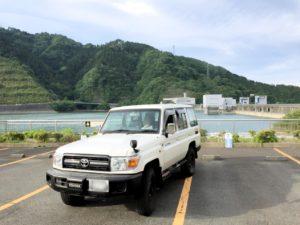 宮ケ瀬ダムとランクル70その2