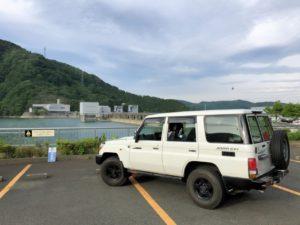 宮ケ瀬ダムとランクル70その3