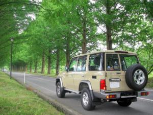 4WD一筋さんのランクル70バン