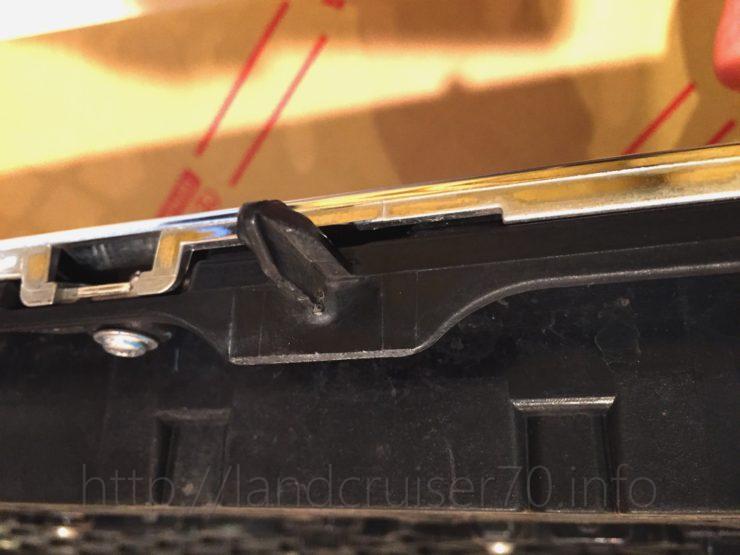 ランクル70オプションフロントグリル