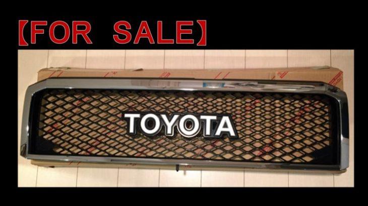 売却済【FOR SALE】ランクル70(Grj76&79用)純正オプション「TOYOTA」フロントグリル