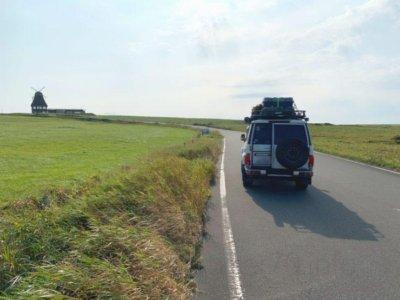 ランクル70で北海道旅行
