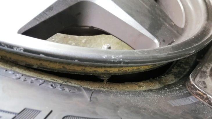 タイヤのエア漏れ(スローパンクチャー)をDIY修理