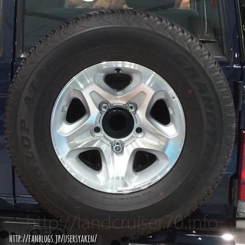 ランクル70用タイヤ