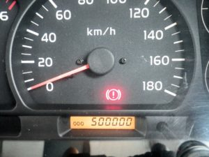 ランクル70の走行距離50万キロ達成