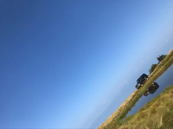 ランクル70で天空の池 (11)