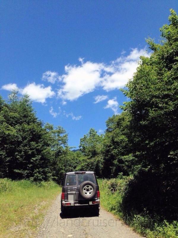 【ランクル70林道情報】福島県:川俣檜枝岐林道