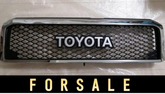 売却済【FOR SALE】「TOYOTA」フロントグリル ランクル70(GRJ76&79用)純正オプション