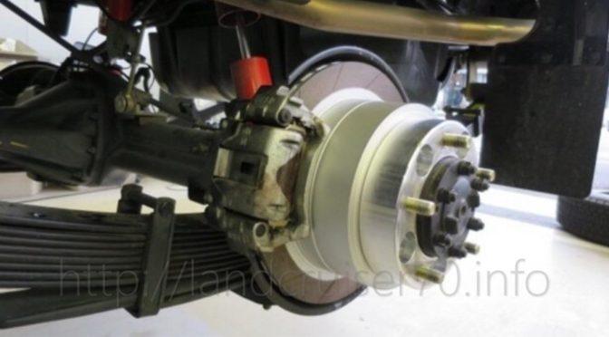 ブレーキパッド交換にむけてランクル70用パッド情報を整理