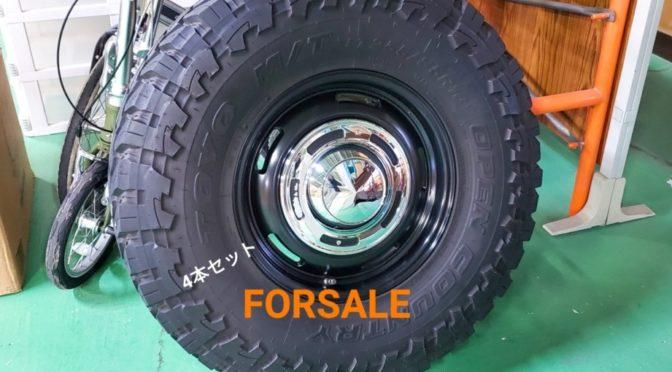 売却済【FORSALE 】ランクル79サイズDEANホイール&オープンカントリー4本セット