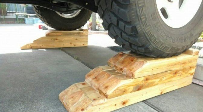 木製のカースロープを作ってみました by ↑矢印さん